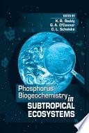 Phosphorus Biogeochemistry of Sub-Tropical Ecosystems