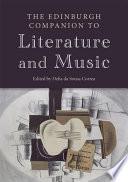 Edinburgh Companion to Literature and Music