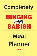 Completely Binging With Babish Meal Planner