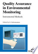 Quality Assurance In Environmental Monitoring Book PDF
