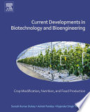 Current Developments In Biotechnology And Bioengineering Book PDF