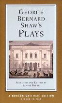 George Bernard Shaw s Plays