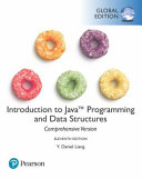 Cover of Introduction to Java Programming and Data Structures, Comprehensive Version, Global Edition