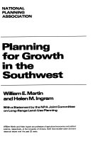 Planning for growth in the Southwest