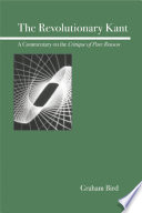 The Revolutionary Kant Book