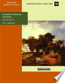 Complete Poems by Lawrence  : Easyread Super Large 18pt Edition