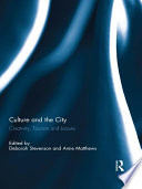 Culture and the City Book