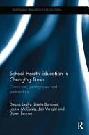 Cover of School Health Education in Changing Times