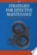 Strategies for Effective Maintenance