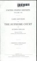 United States Reports Supreme Court Acid Free