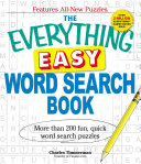 The Everything Easy Word Search Book