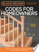 Black & Decker Codes for Homeowners, Updated 3rd Edition  : Electrical - Mechanical - Plumbing - Building - Current with 2015-2017 Codes