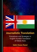 Journalistic Translation