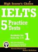IELTS 5 Practice Tests  Academic Set 1