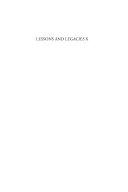 Lessons and Legacies X