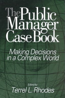 The Public Manager Case Book Book