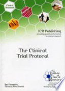 The Clinical Trial Protocol Book
