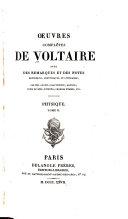 Œuvres complètes de Voltaire avec des remarques et des notes historiques, scientifiques et littéraires: Physique