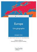 Pdf Europe, une géographie - La fabrique d'un continent Telecharger