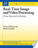 Real Time Image and Video Processing Book
