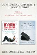 Considering University 2 Book Bundle