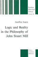 Logic and Reality in the Philosophy of John Stuart Mill ebook