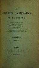 Oeuvres de Molière: Notice bibliographique additions et corrections, par A. Desfeuilles