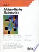Addison Wesley Mathematics
