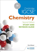 Books - Cam/Ie Igcse Chemistry Study & Rev Guide | ISBN 9781471894602