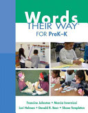 Words Their Way for Prek K