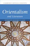 Orientalism and Literature