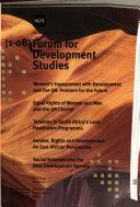 Forum for Development Studies