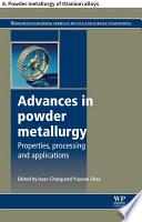 Advances in powder metallurgy