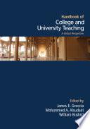 Handbook of College and University Teaching