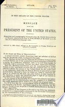 Message from the President of the United States  Submitting Dispatches and Accompanying Documents from the United States Minister at Hawaii  Relative to the Lease to Great Britain of an Island as a Station for a Submarine Telegraph Cable Book PDF