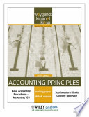 Accounting Principles 9th Edition Working Paper for SouthWestern Illinois College-Belleville
