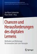Chancen und Herausforderungen des digitalen Lernens