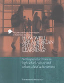The Brown Center Annual Report on American Education