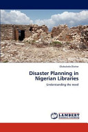 Disaster Planning in Nigerian Libraries