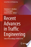 Recent Advances in Traffic Engineering