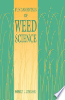 Fundamentals of Weed Science Book