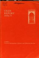 CILES Report Book PDF