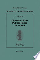 Chronicle of the Pulitzer Prizes for Drama