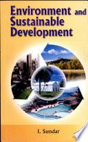 Environment & Sustainable Development