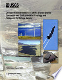 """Critical Mineral Resources of the United States: Economic and Environmental Geology and Prospects for Future Supply"" by K. J. Schulz, John H. DeYoung, Robert R. Seal, Dwight C. Bradley"
