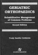 Geriatric Orthopaedics