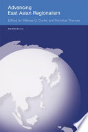 Advancing East Asian Regionalism Book PDF
