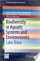 Biodiversity in Aquatic Systems and Environments Book