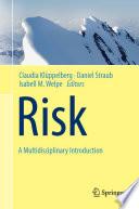 Risk   A Multidisciplinary Introduction Book