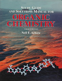 Study Guide And Solutions Manual For Organic Chemistry Book PDF